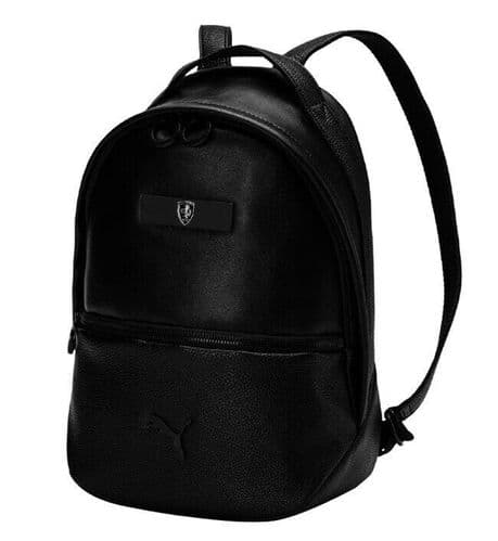 Puma Ferrari Lifestyle Zainetto Women's Backpack Black Brand NEW 075867-01